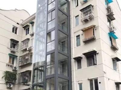 """搭上""""幸福梯"""",珠海既有住宅增设电梯启用"""