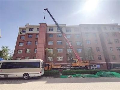 稀土高新区首个加装电梯项目落户这个小区