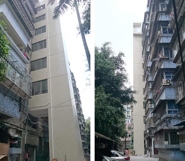 广州市海珠区新敦路46号小区旧楼电梯加装项目