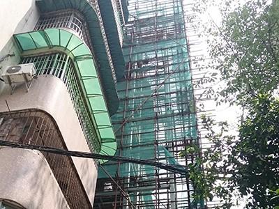 广州市海珠区新港中路鸿运花园西二街旧楼电梯加装项目
