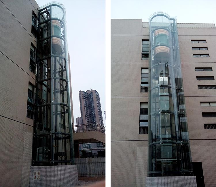 广州海珠区委党校旧楼电梯加装项目